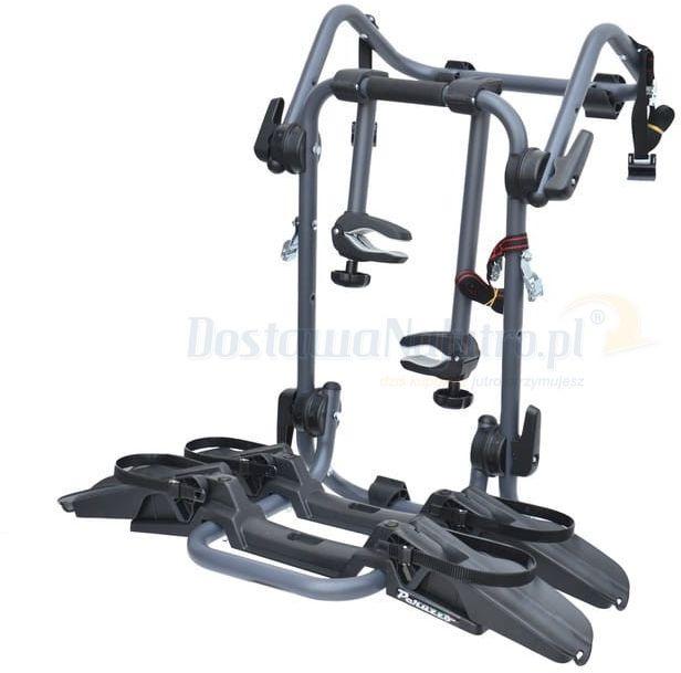 Tylny bagażnik montaż na klapę Pure Instinct Peruzzo na 2 rowery