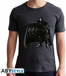 """Abystyle Overwatch  t-shirt """"Chopper""""  męski  czarny (XL)"""
