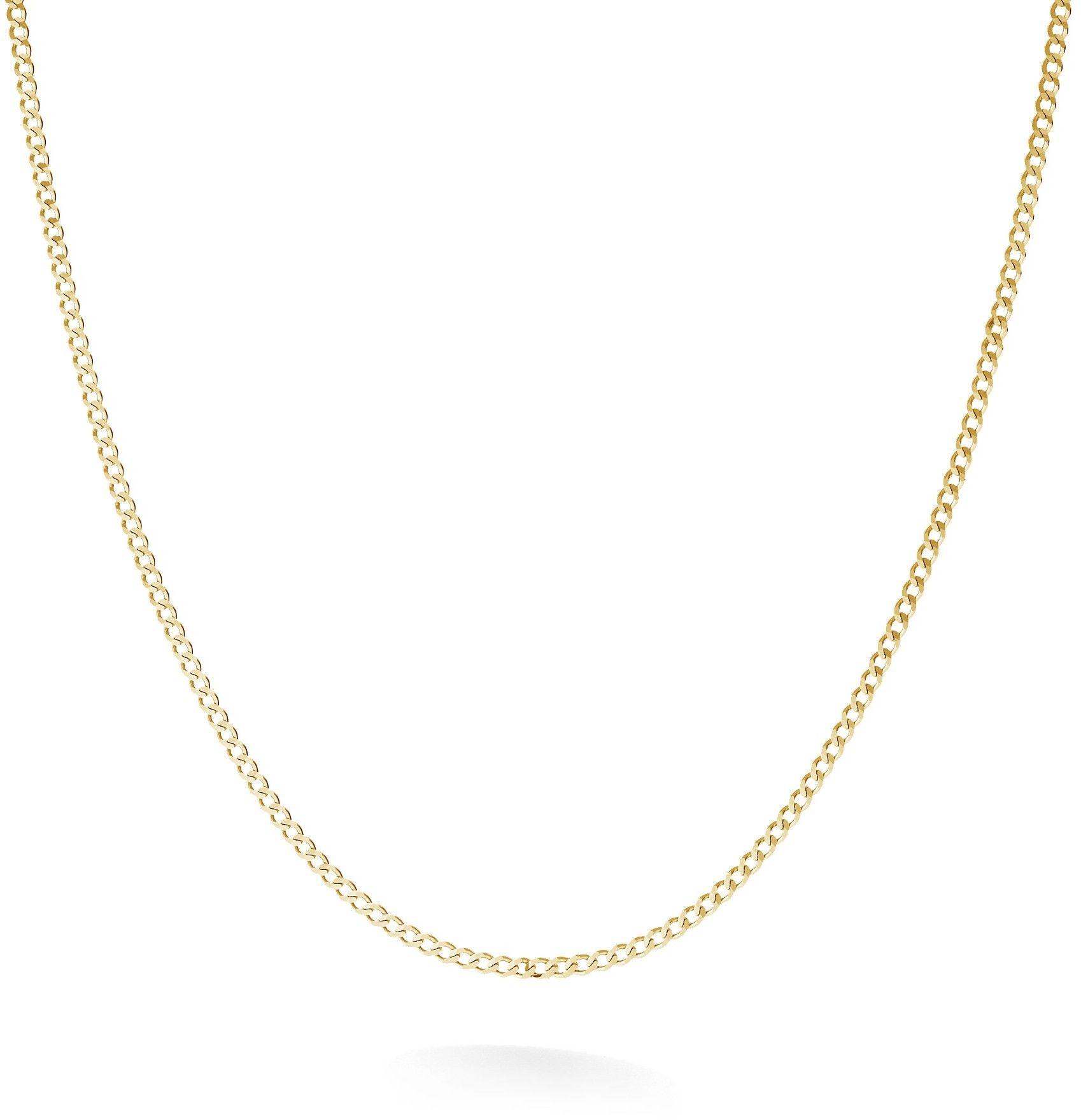 Srebrny łańcuszek pancerka diamentowana, srebro 925 : Długość (cm) - 90, Srebro - kolor pokrycia - Pokrycie żółtym 18K złotem
