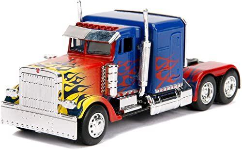 Jada Toys 253112003 Transformers pojazd, niebieski/czerwony