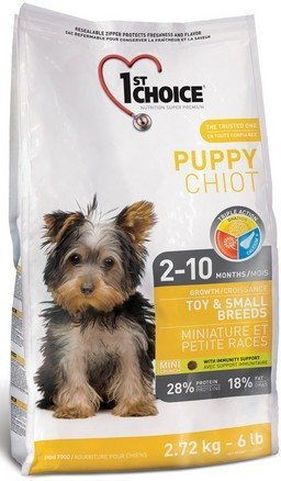 1st Choice Dog Puppy Toy & Small Breeds 350g