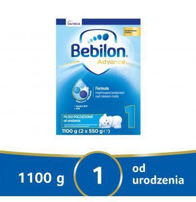 Bebilon 1 Pronutra Advance mleko początkowe od urodzenia 1100 g