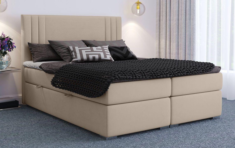 Łóżko tapicerowane kontynentalne BONO