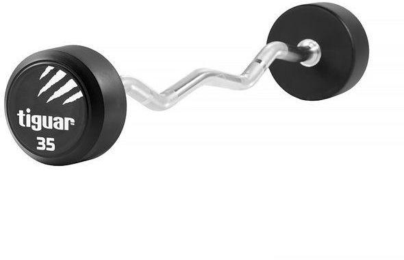 Sztanga łamana Barbell tiguar 35 kg - 35 kg