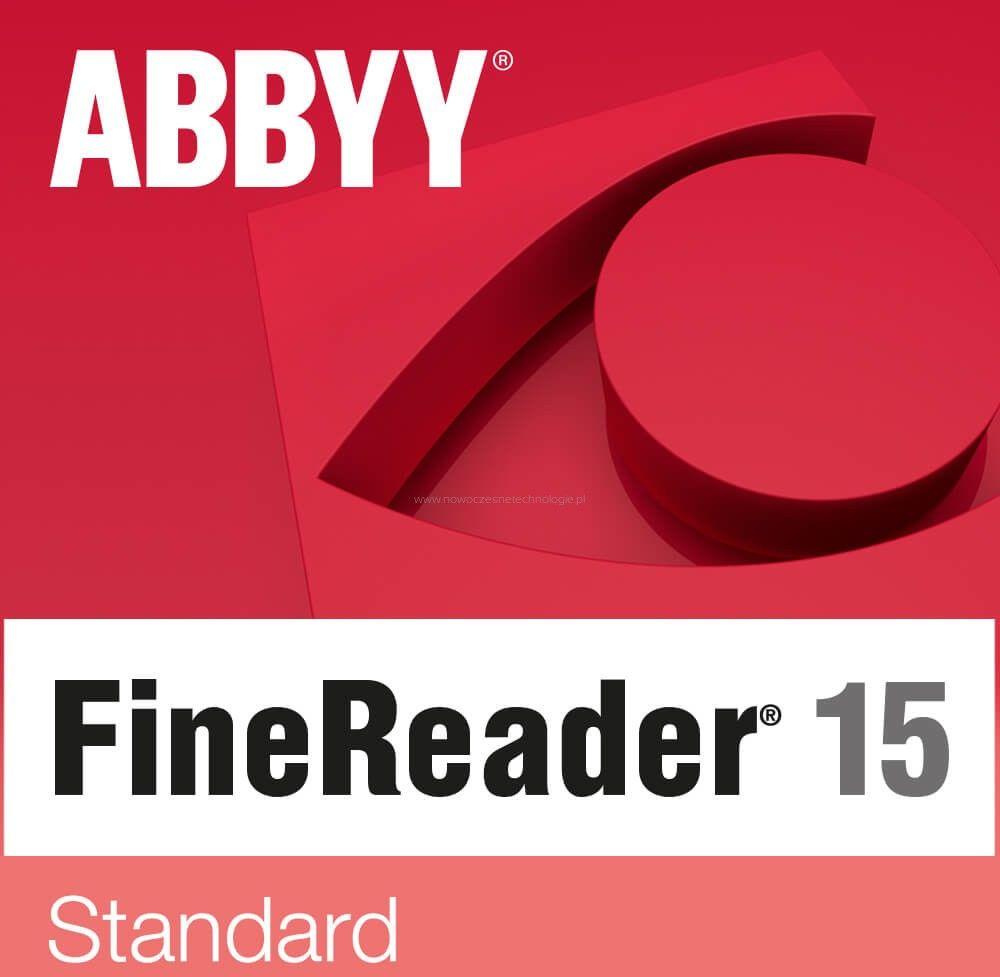 ABBYY FineReader 15 Standard (wersja jednostanowiskowa) Elektroniczna - Certyfikaty Rzetelna Firma i Adobe Gold Reseller