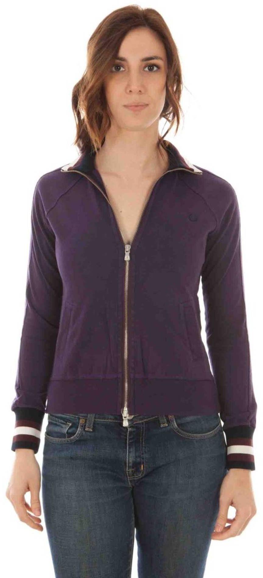 FRED PERRY Sweatshirt with zip Women