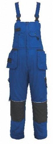 Spodnie ogrodniczki ORION KRYSTOF w kolorze niebiesko-czarnym WYPRZEDAŻ