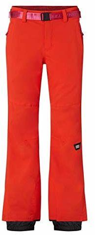 O''Neill Damskie spodnie Star Slim Pants Snow, Fiery Red, XL