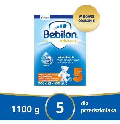 Bebilon 5 Pronutra Advance mleko modyfikowane powyżej 2,5 roku życia 1100 g