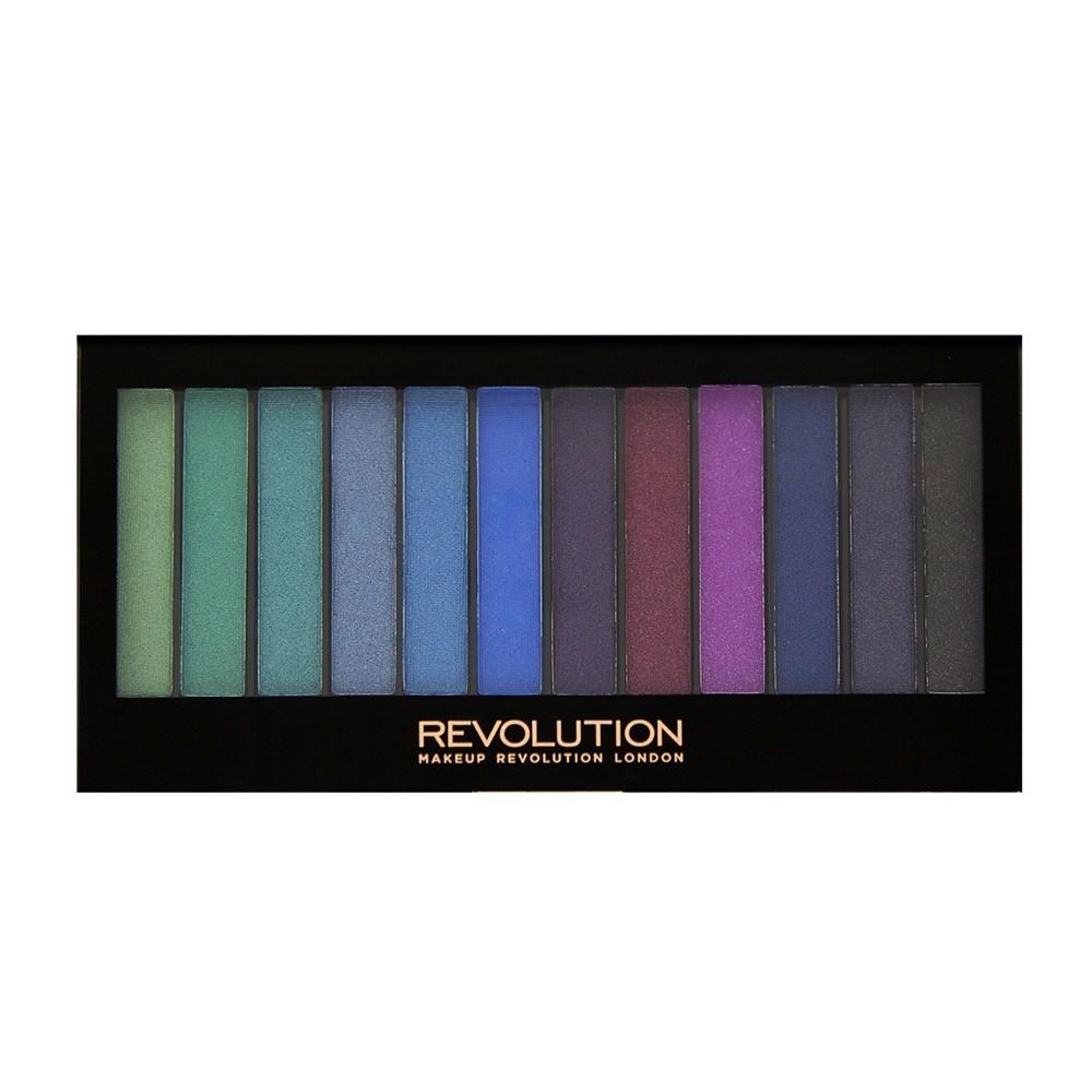Makeup Revolution paleta 12 cieni Mermaids vs Unicorns