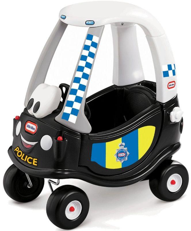 Little Tikes Jeździk Patrol Policji Samochód Cozy Coupe Radiowóz LK