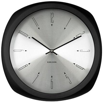 Zegar ścienny Aesthetic black by Karlsson
