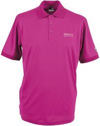 Deproc Active damska koszulka polo HEDLEY Funktions różowy purpurowy 38