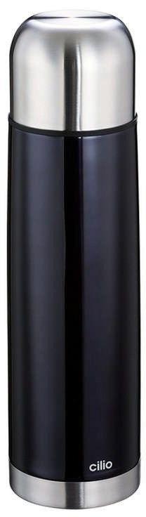 Cilio - colore - termos, 0,75 l, czarny