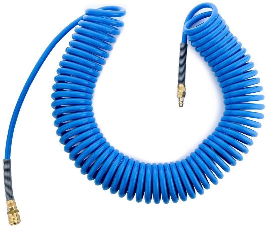 Wąż spiralny 12x8mm poliuretanowy 15m RQS