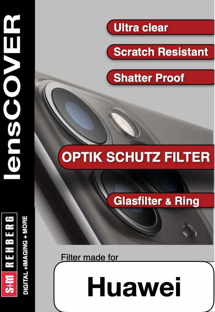 lensCOVER + Pierścień Huawei P20 PRO