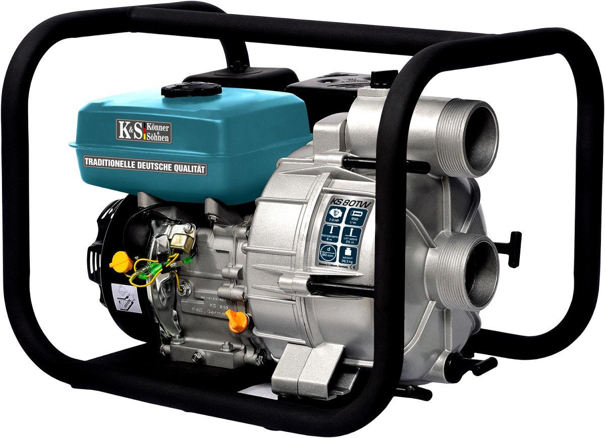 Pompa spalinowa do wody brudnej K&S KS80 TW 7KM 950l/min
