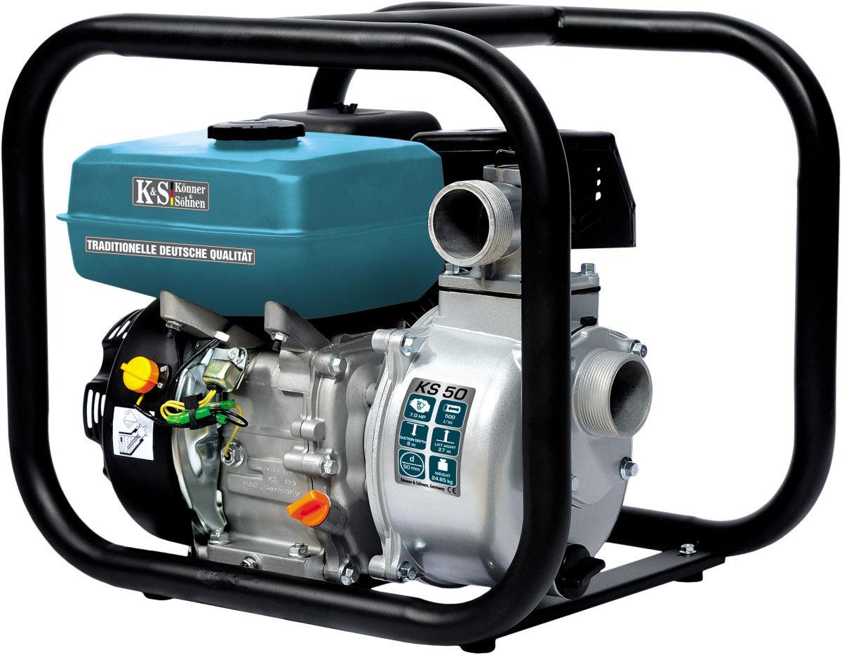 Pompa spalinowa do wody K&S KS50 5,5KM 500l/min
