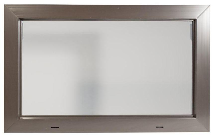 Okno gospodarcze KIPP Brązowe 800 x 500 mm ACO