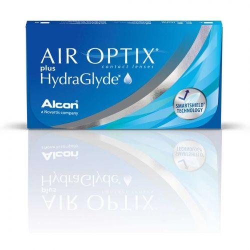 Air Optix Plus HydraGlyde - 3 sztuki