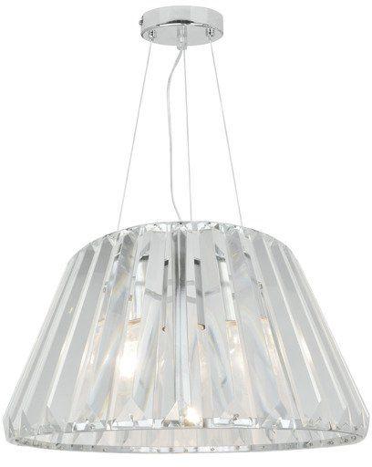 Lampa wisząca Paria P15090-1 Zuma Line transparentna oprawa w dekoracyjnym stylu
