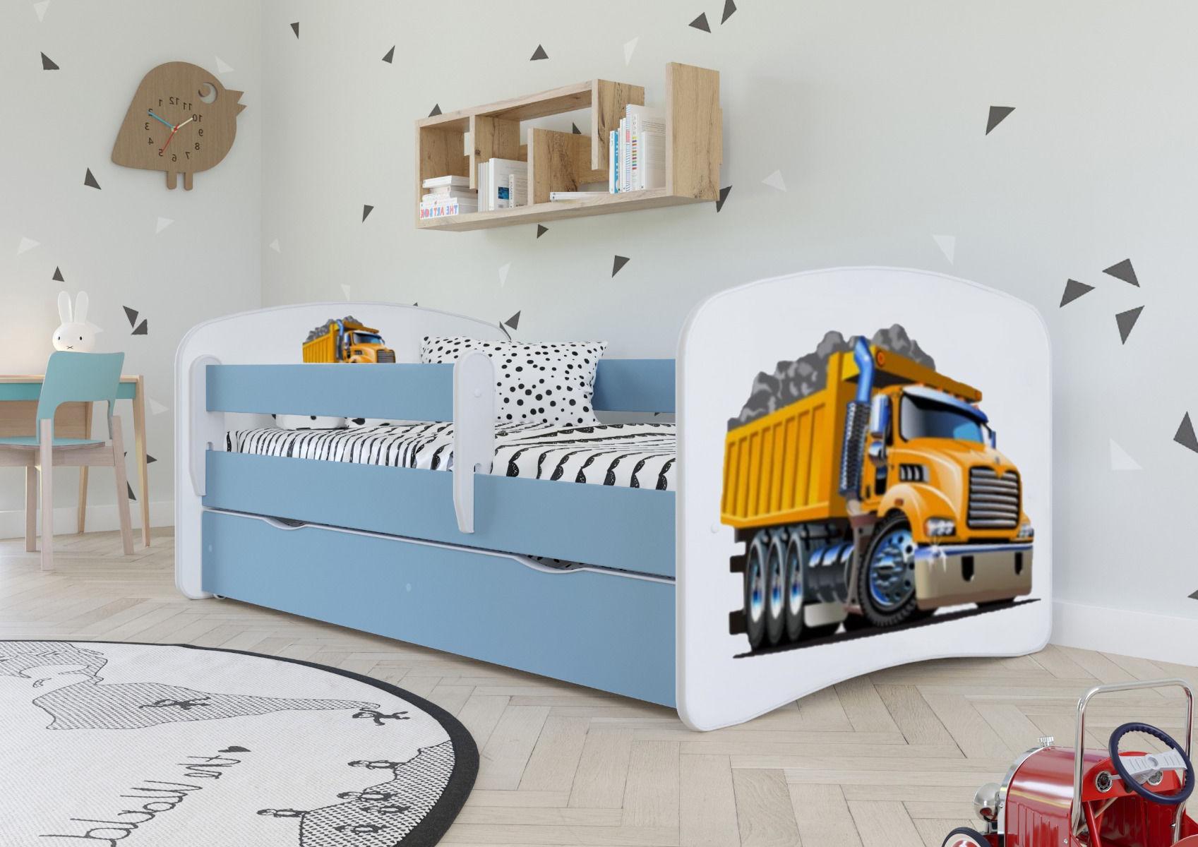 Łóżko dziecięce BABY DREAMS ciężarówka 140x70