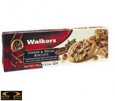 Ciastka Walkers z kawałakami orzechów Pecan i toffi 150g