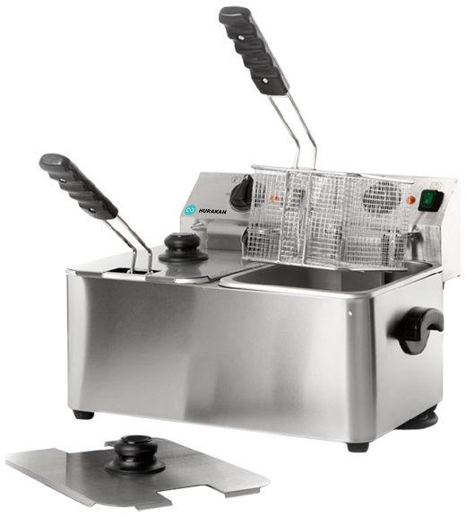 Frytownica nastawna elektryczna 2 x 4L 5000W