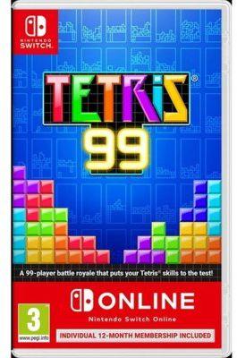 Gra Nintendo Switch Tetris 99 + Nintendo Switch Online 12 mies.. Kup taniej o 40 zł dołączając do Klubu