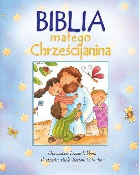 Biblia małego chrześcijanina niebieska