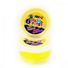Ciastolina dla dzieci AMOS żółta, 1 szt