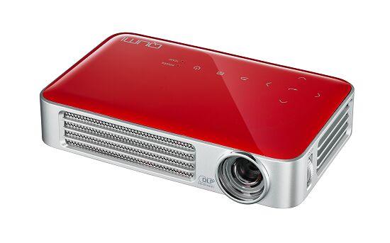Projektor Vivitek QUMI Q6 Czerwony+ UCHWYTorazKABEL HDMI GRATIS !!! MOŻLIWOŚĆ NEGOCJACJI  Odbiór Salon WA-WA lub Kurier 24H. Zadzwoń i Zamów: 888-111-321 !!!