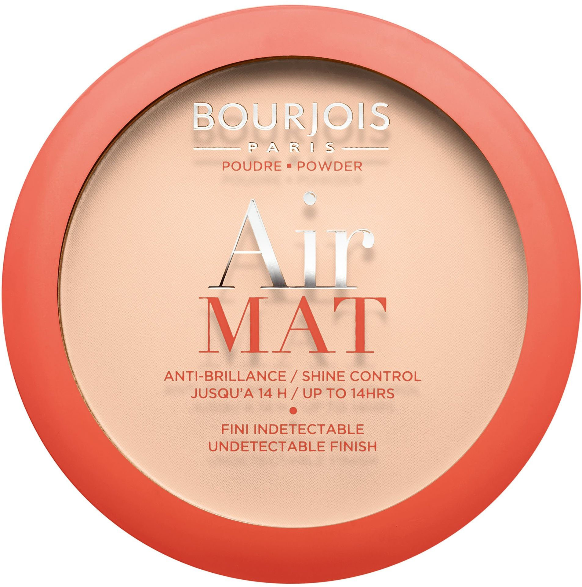 Bourjois Mata powietrzna matowe wykończenie kompaktowy proszek 1 róża kość słoniowa, 1 g