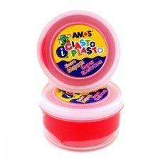 Ciastolina dla dzieci AMOS czerwona, 1 szt