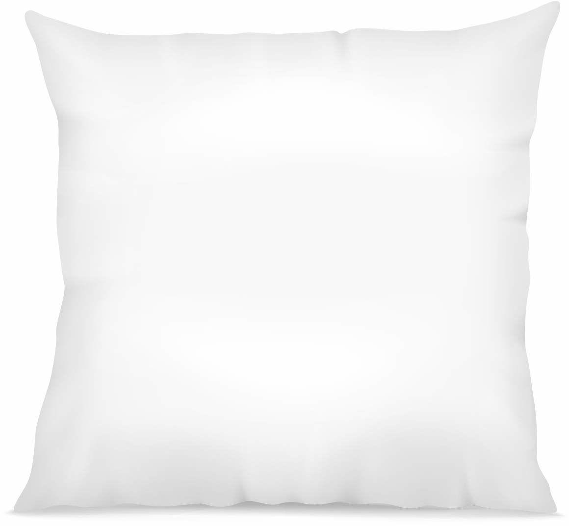 Laurentmortreux biała poduszka, 60 x 60 cm, miękka, poliester, 60 x 60 cm