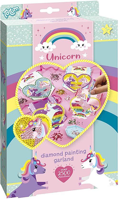Totum Unicorn Zestaw Do Malowania Diamentowego Girlandy