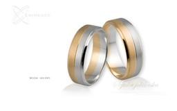 Obrączki ślubne - wzór Au-061