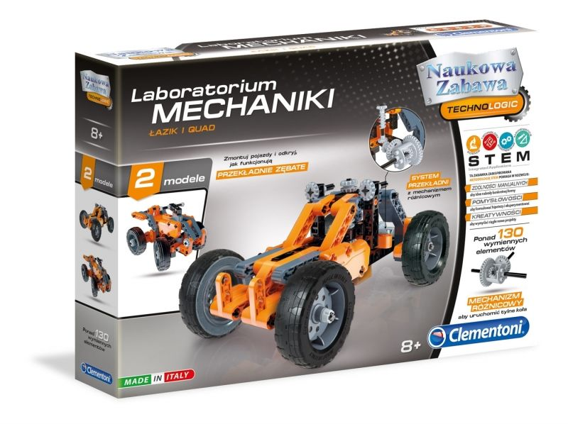 Laboratorium Mechaniki - Łazik i Quad Clementoni LK