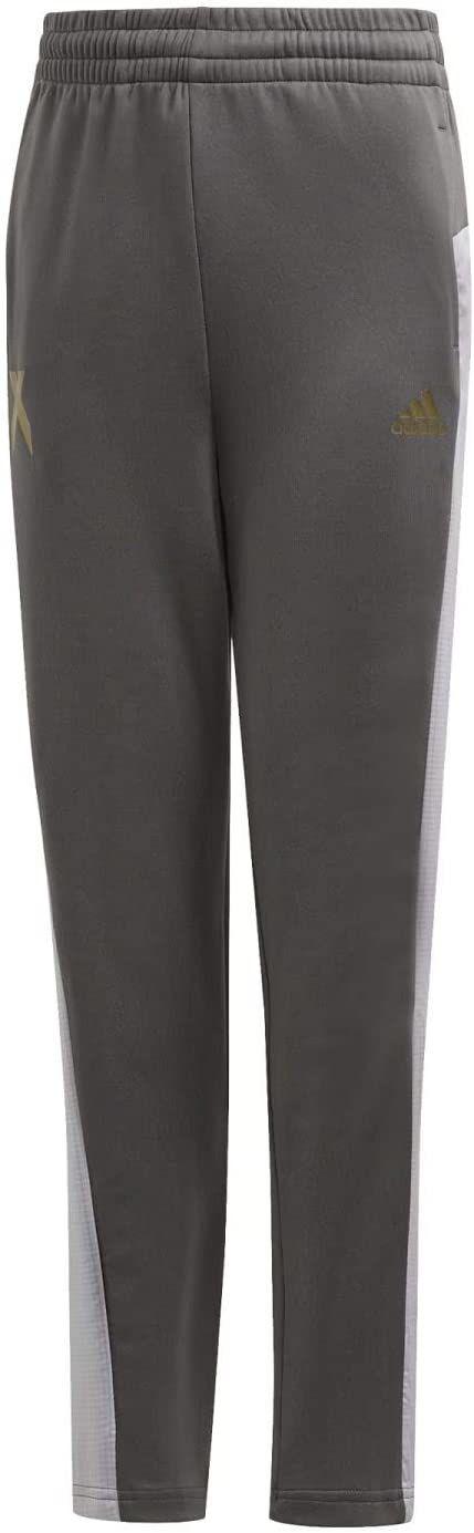 adidas Spodnie sportowe dla chłopców B A.r. X szary szary Six/Gold Met. 3-4A