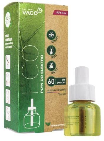 Eco elektro vaco  na komary i muchy  płyn