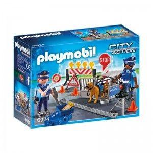 Playmobil - Blokada policyjna 6924