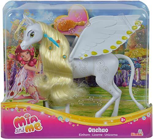 Simba 109480093 - Mia and Me nowa wersja jednorożec Onchao