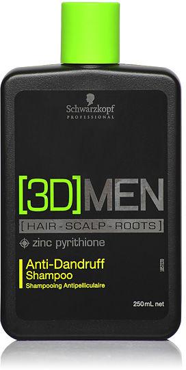 Schwarzkopf 3DMen Anti-Dandruff Shampoo Szampon przeciwłupieżowy 250 ml