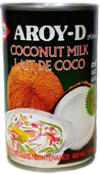 Mleko kokosowe do deserów w puszce 400ml - Aroy-D