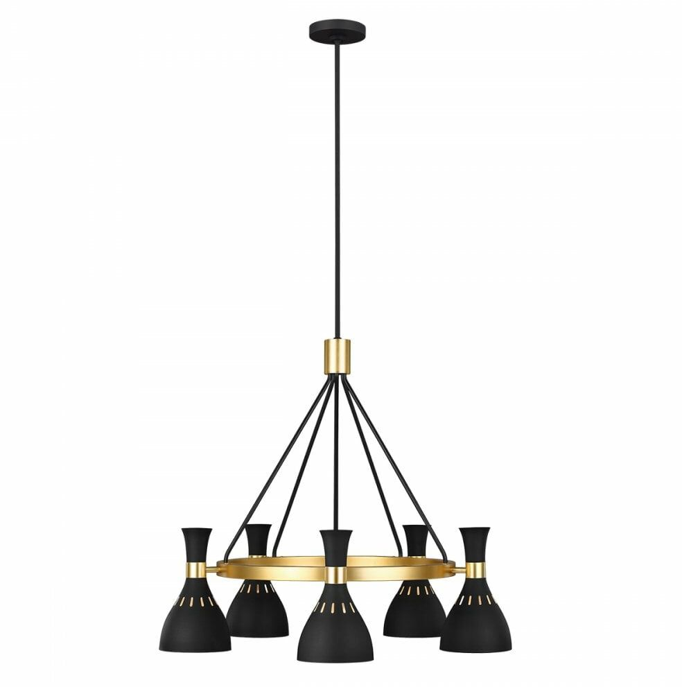 Lampa wisząca JOAN FE-JOAN5-MB - Elstead Lighting