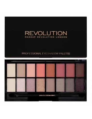 Makeup Revolution paleta 16 cieni New-trals vs Neutrals