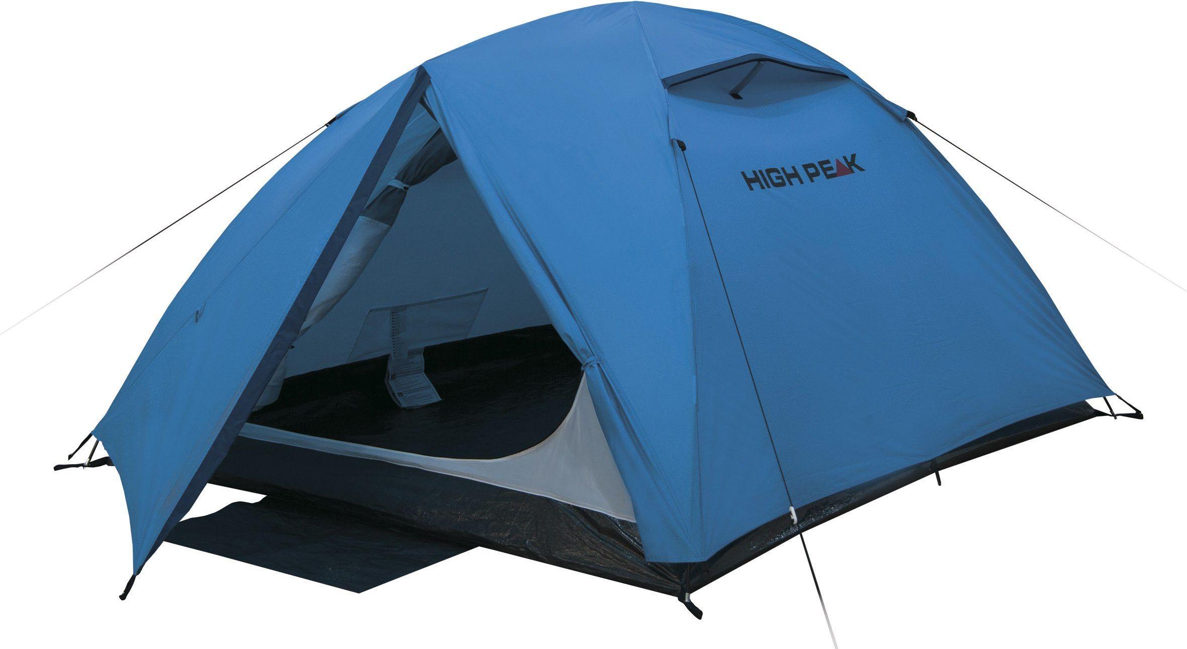 High Peak Kingston 3 namiot, niebieski/szary, jeden rozmiar