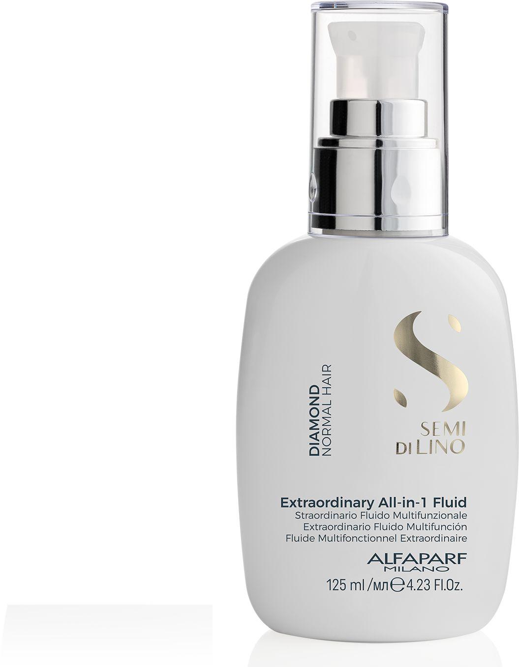 Alfaparf SDL Diamond Fluid rozświetlający do włosów 125 ml