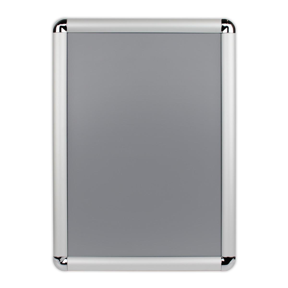Ramka OWZ A3 plakatowa zatrzaskowa aluminiowa zaokrąglane narożniki