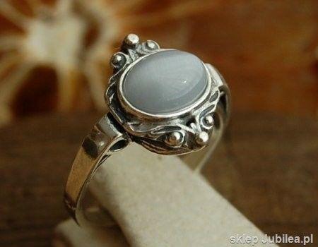Canto bueno - pierścionek z kocim okiem